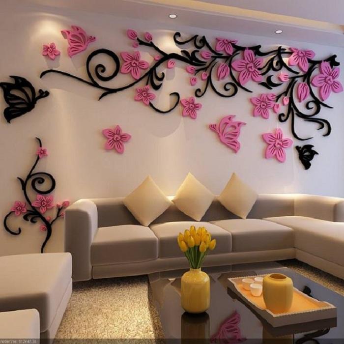 Дизайн на стены своими руками